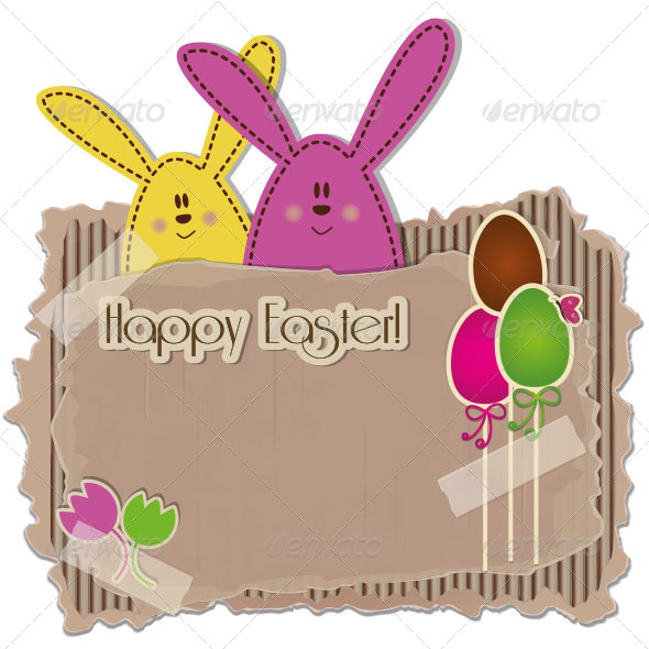 GraphicRiver Easter Background 6550324