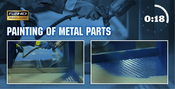 Painting of Metal Parts 1