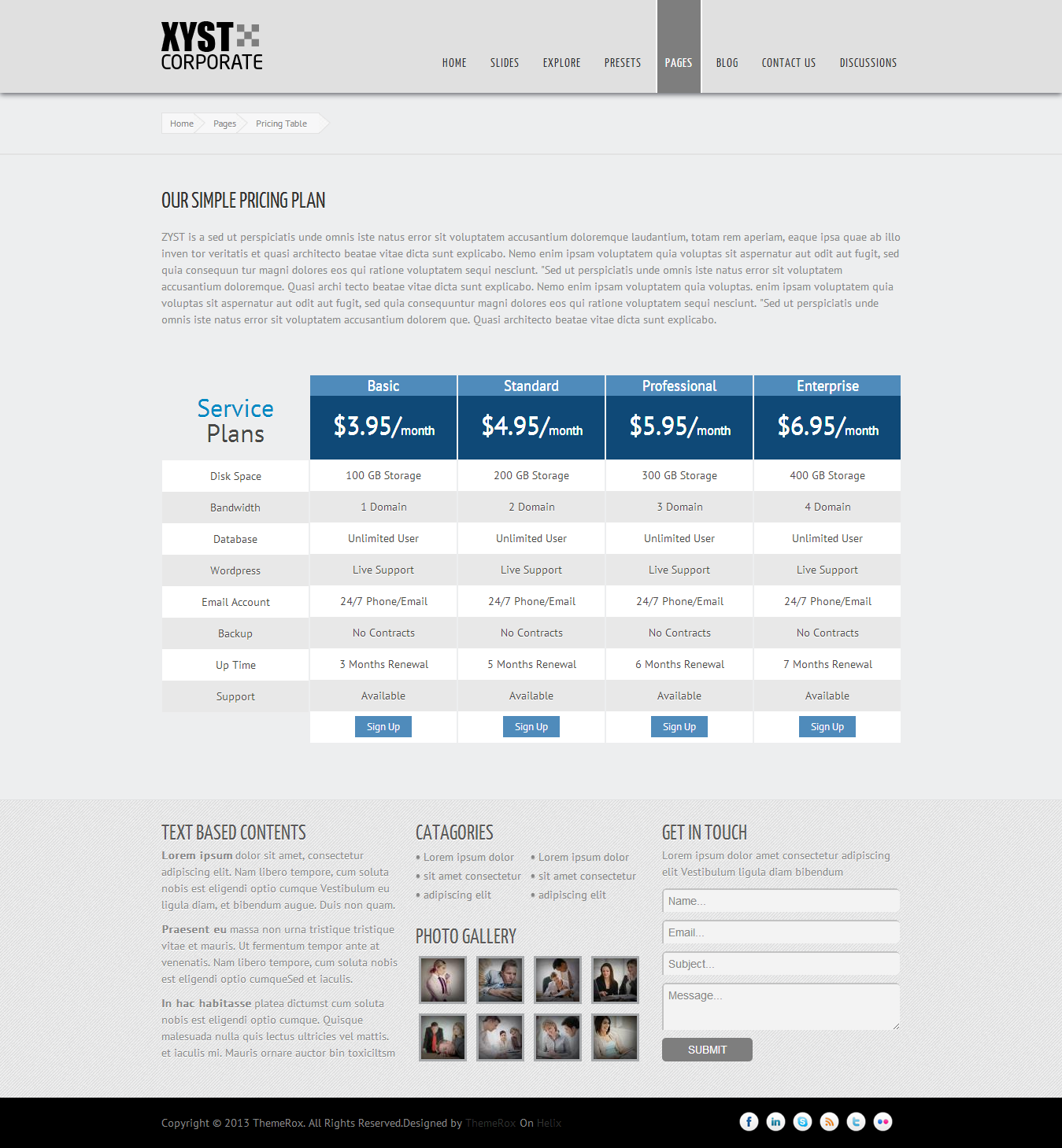 Xyst-Corporate Responsive Joomla Template