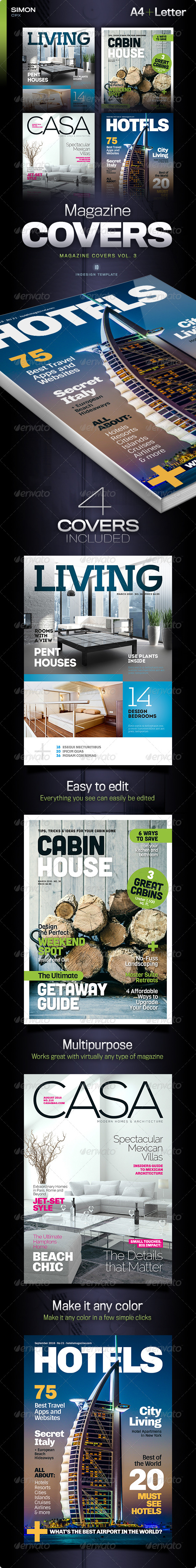 GraphicRiver Magazine Covers Vol 3 6537181