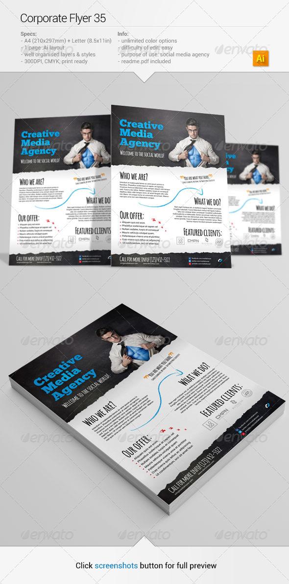 GraphicRiver Corporate Flyer 35 6551754