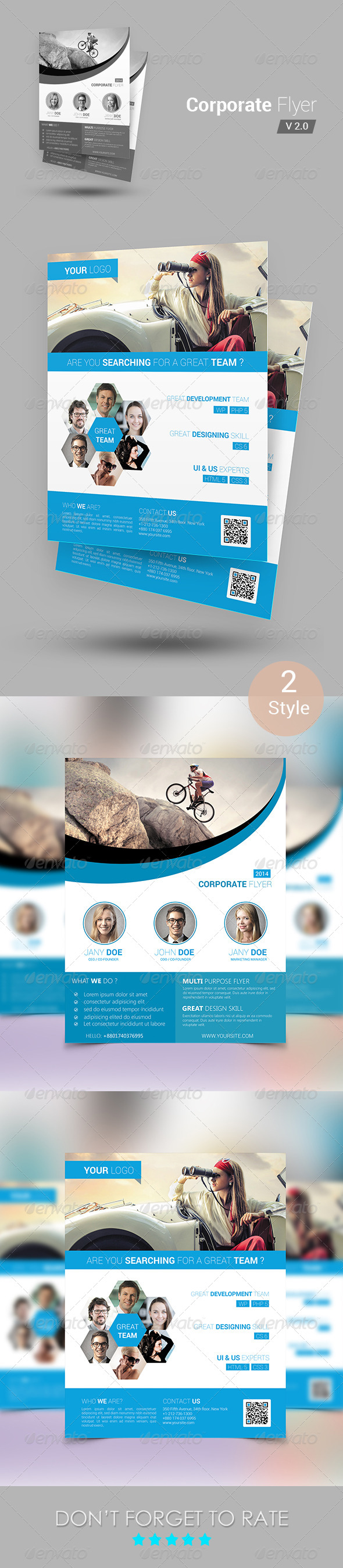 GraphicRiver Corporate Flyer Template 6551781