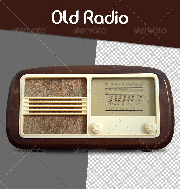 GraphicRiver Old Radio 6551952