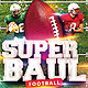 Superboul Football Flyer Template - GraphicRiver Item for Sale
