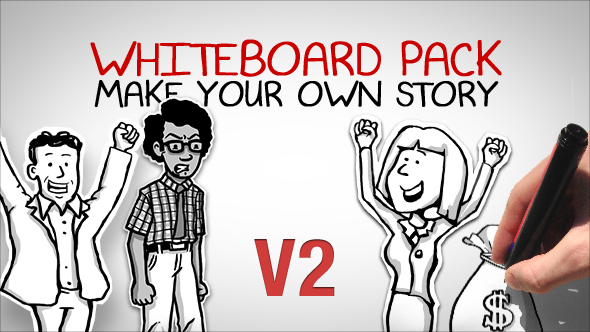 Whiteboard Pack Make Your Own Story