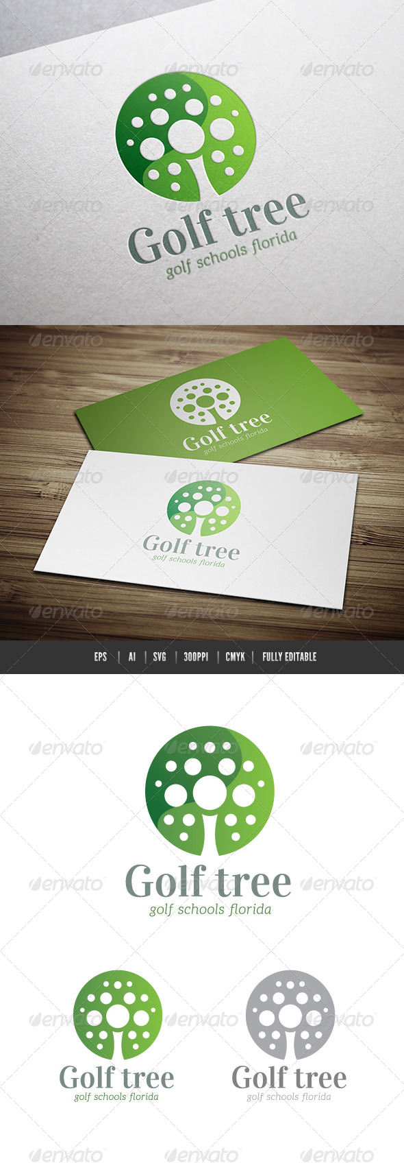GraphicRiver Golf Tree 6552135