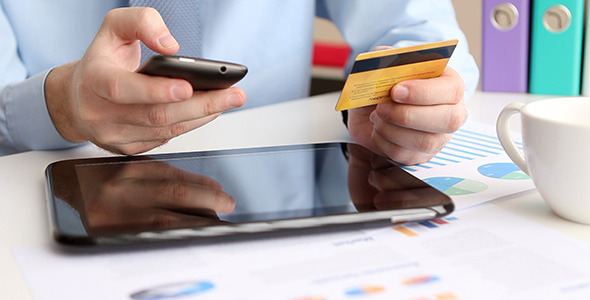 Online Banking with Smartphone
