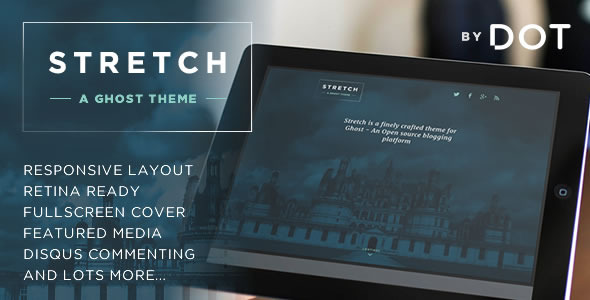 ThemeForest Stretch Responsive Ghost theme by DOT 6548560