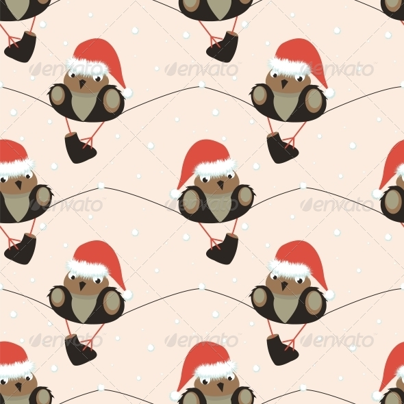 GraphicRiver Christmas Seamless Pattern 6552528
