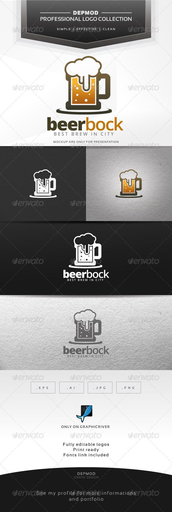 GraphicRiver Beer Bock Logo 6552530