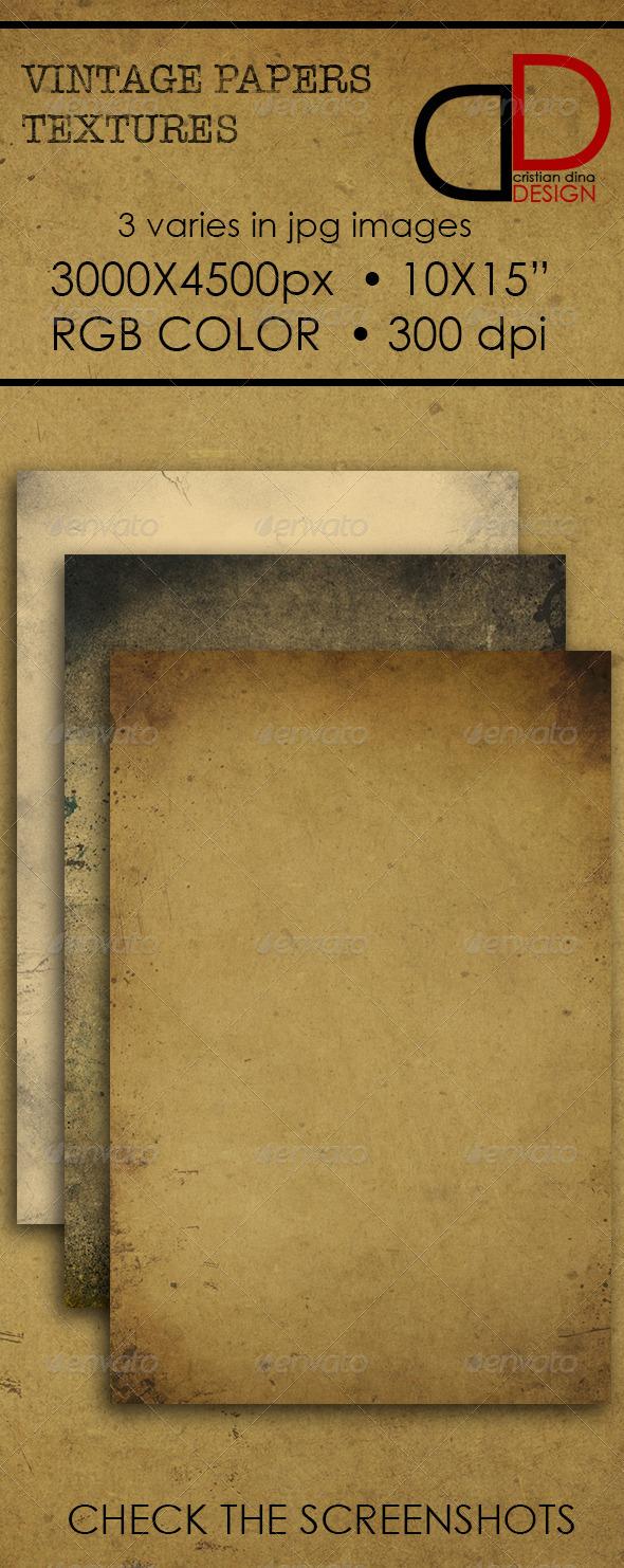 GraphicRiver Vintage Paper Texture 6552550