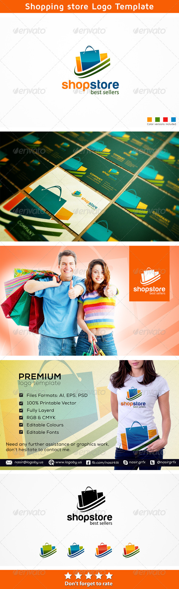 Buyer Shop Store - Symbols Logo Templates