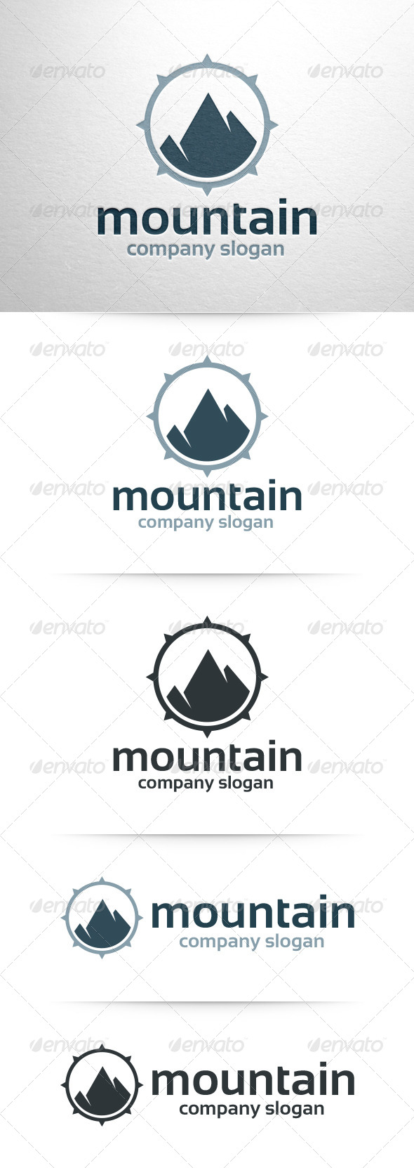 GraphicRiver Mountain Logo Template 6552704