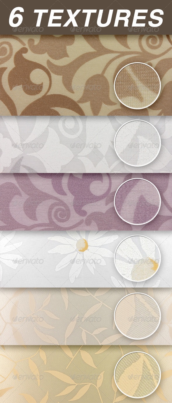 GraphicRiver floral fabric 6552770