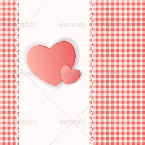 GraphicRiver Happy Valentines Day Card with Hearts 6552774