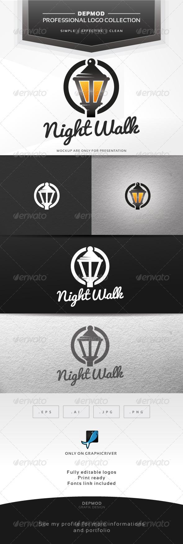 GraphicRiver Night Walk Logo 6552776