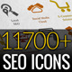 SEO Services Icons Pack - GraphicRiver Item for Sale