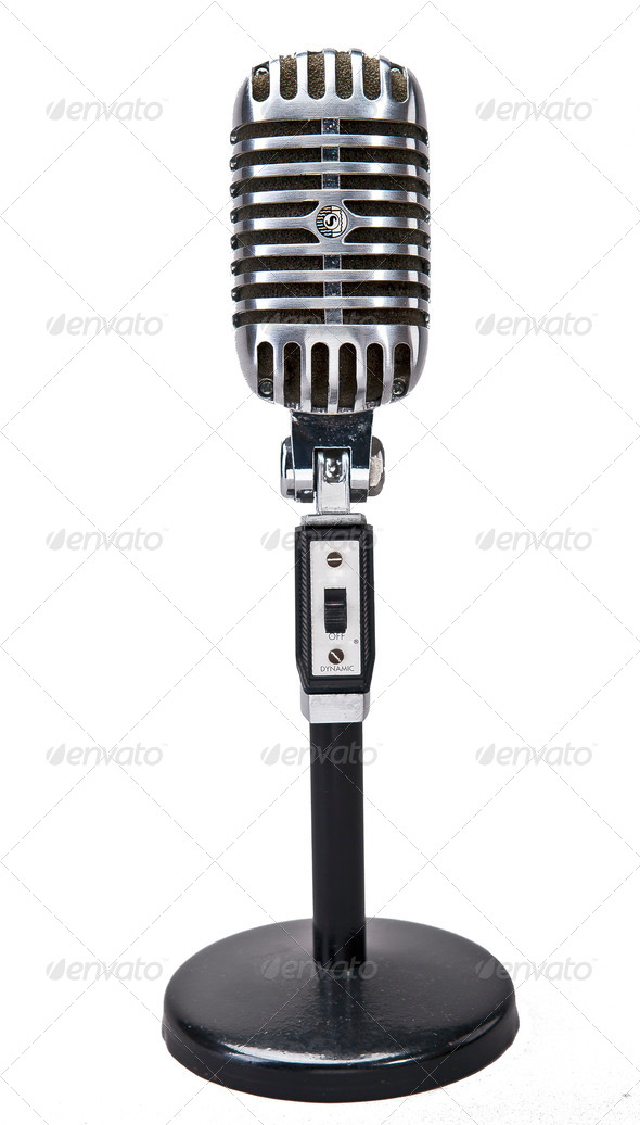Stock Photo - PhotoDune Microphone 686937