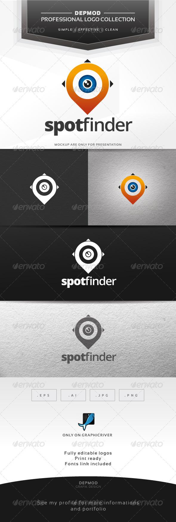 Spot Finder Logo