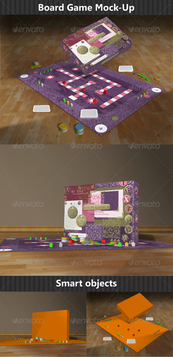 GraphicRiver Board Game Mock-Up 6554169