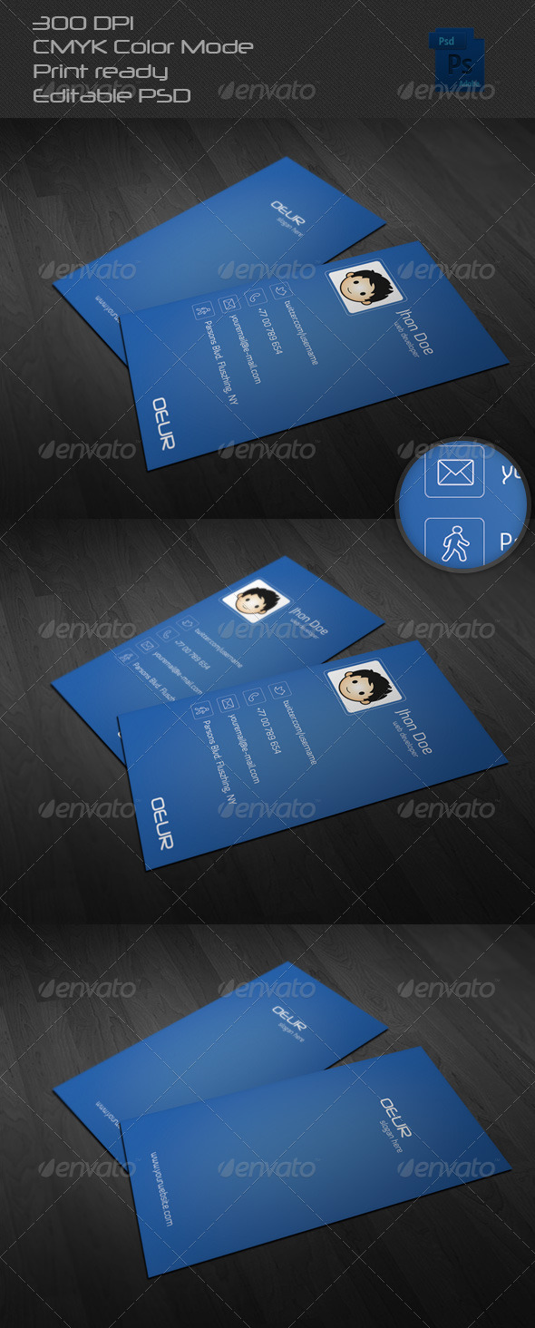 GraphicRiver Corporate Business Card 08 6547235