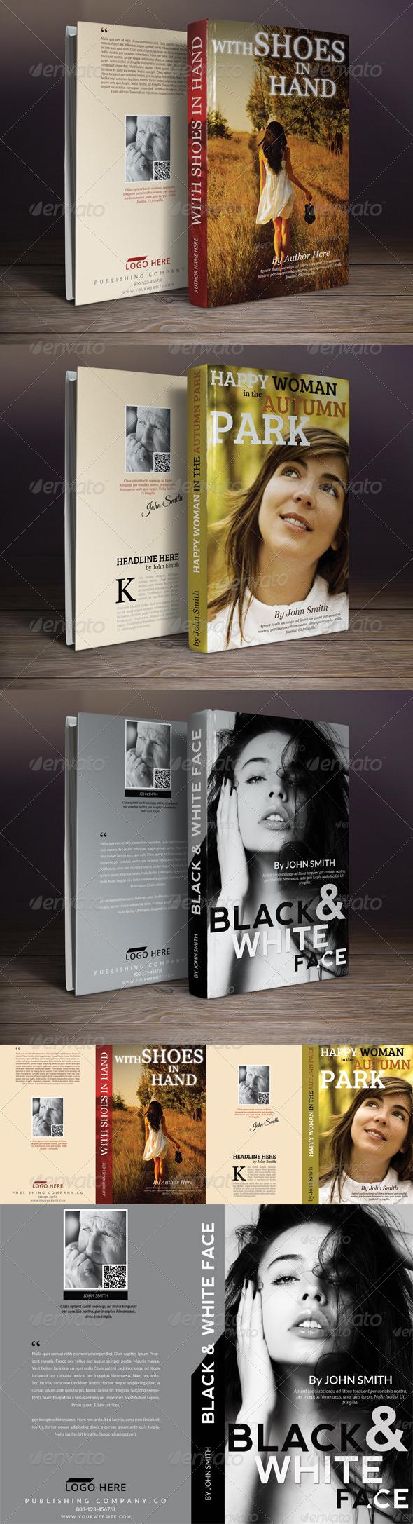 GraphicRiver Book Cover Templates Bundle 6554186