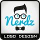 Nerd Style Logo - GraphicRiver Item for Sale