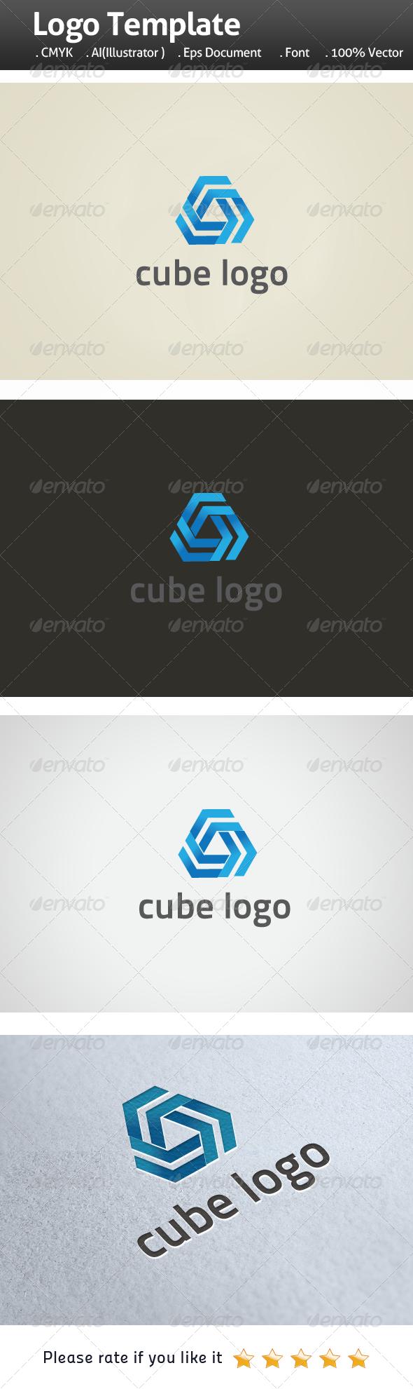 GraphicRiver Cube Logo 6554249
