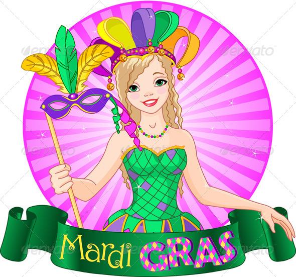 GraphicRiver Mardi Gras Design 6554534