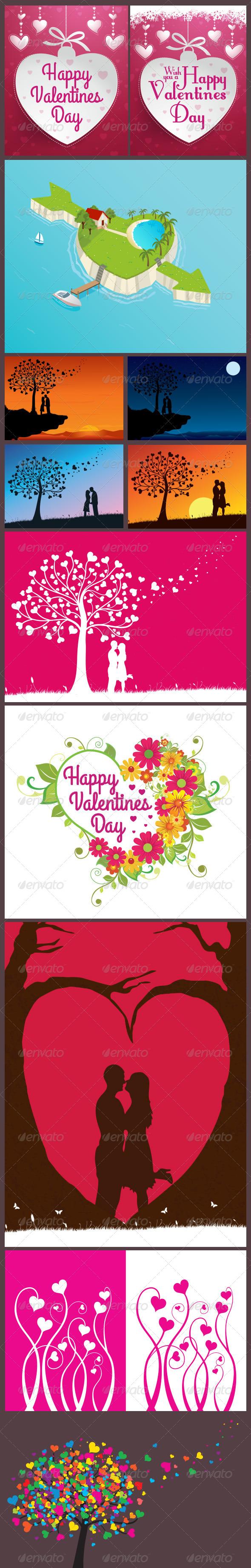 Valentine's Day Designs - Valentines Seasons/Holidays