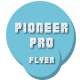 Pioneer Pro Flyer - GraphicRiver Item for Sale