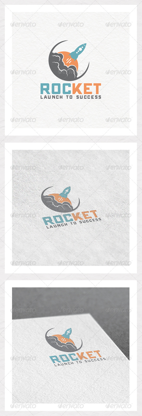 GraphicRiver Rocket Success Logo Template 6554693