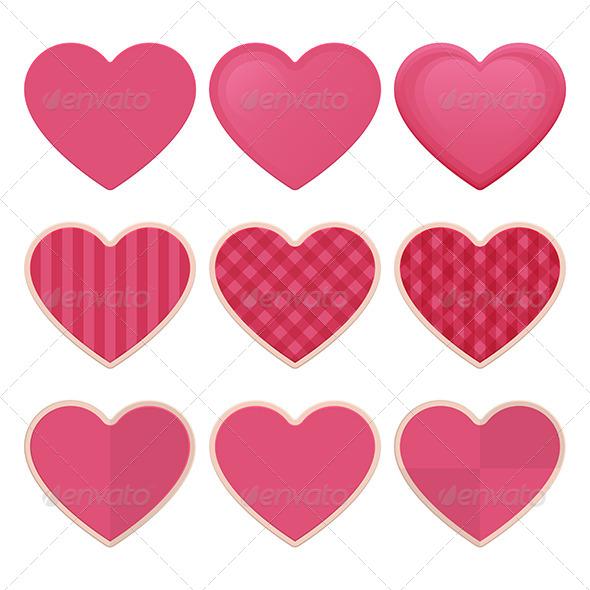 GraphicRiver Hearts 6554926