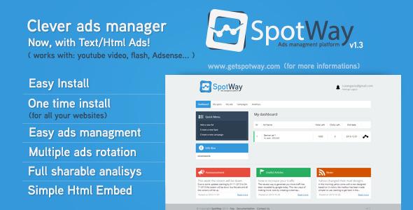 CodeCanyon Ads Managment Platform 6492608