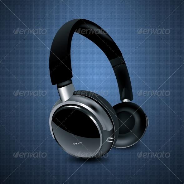 GraphicRiver Headphones 6555928