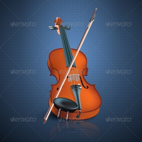 GraphicRiver Violin 6555973