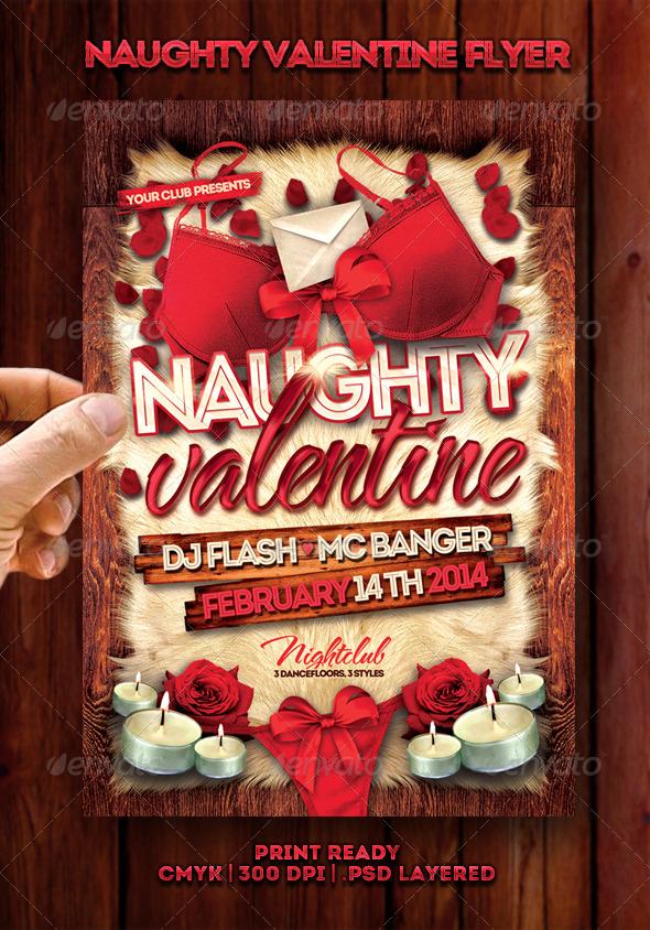 Naughty Valentine Flyer
