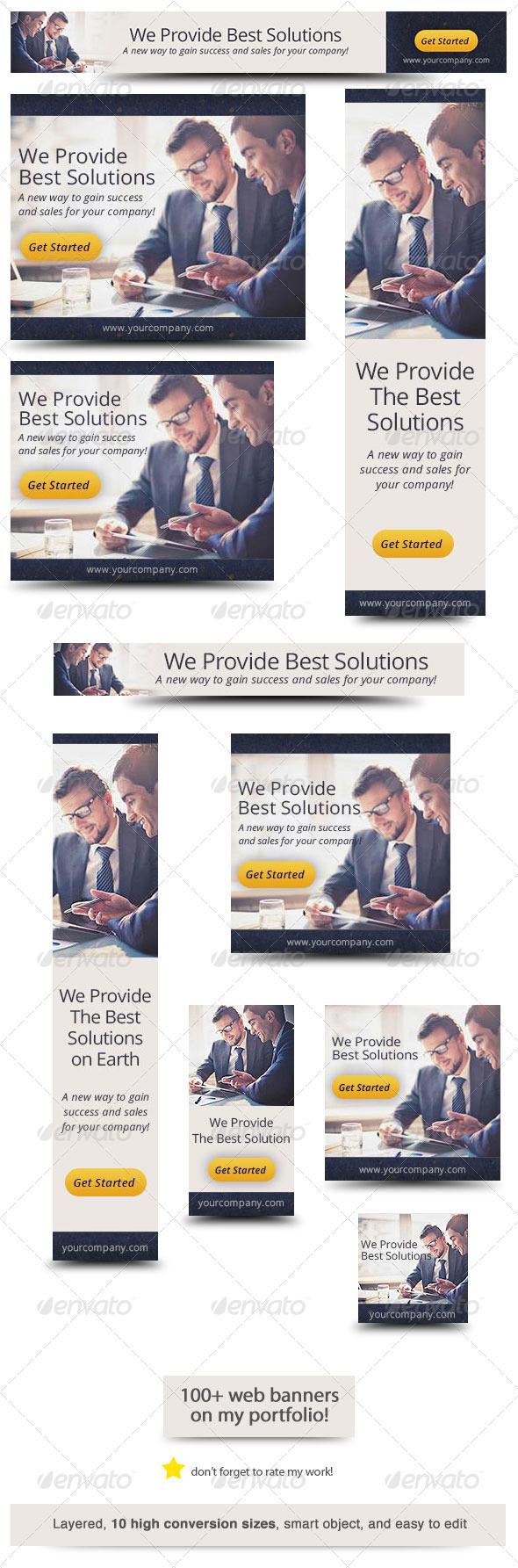 GraphicRiver Corporate Web Banner Design Template 34 6556353