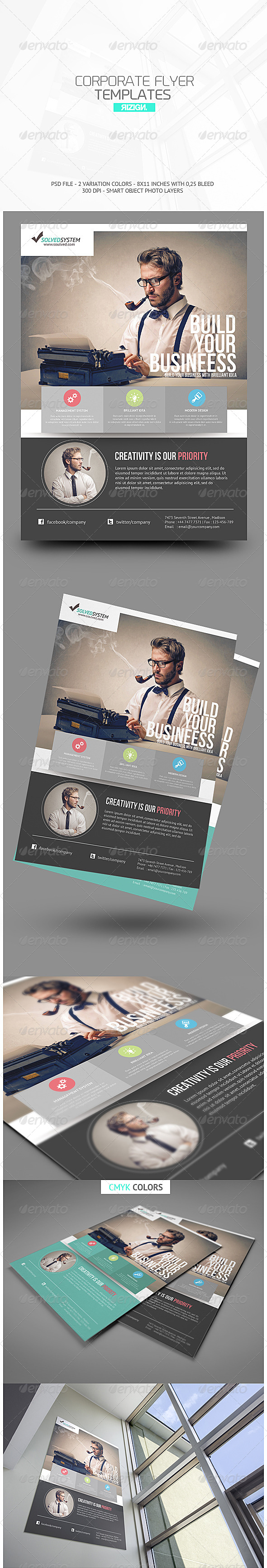 GraphicRiver Corporate Flyer 6556502