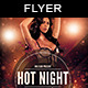 Hot Night Party - GraphicRiver Item for Sale