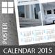 Poster Business Calendar Template 2015 (2014) - GraphicRiver Item for Sale