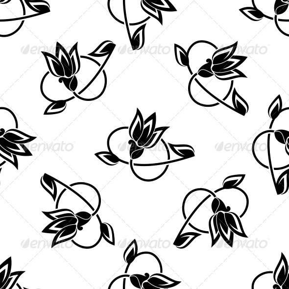 GraphicRiver Floral Seamless Pattern 6556588