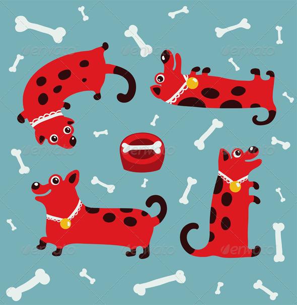 GraphicRiver Dog Illustration 6556675