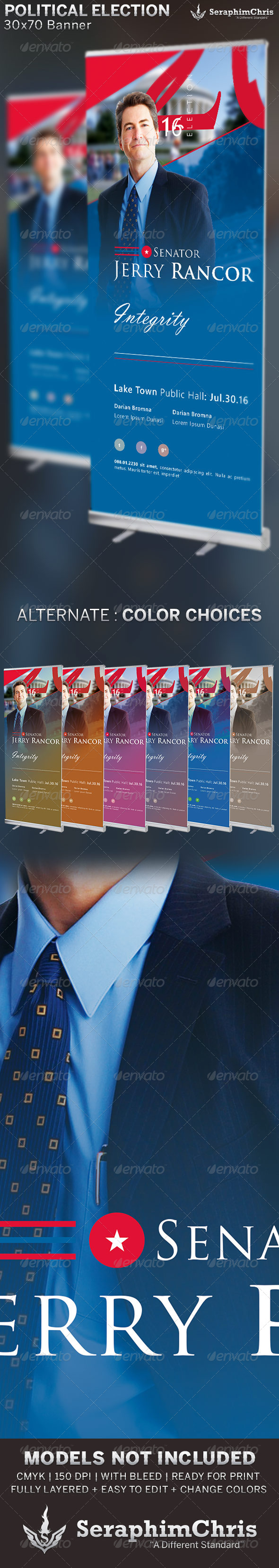 GraphicRiver Political Election Banner Template 6556690