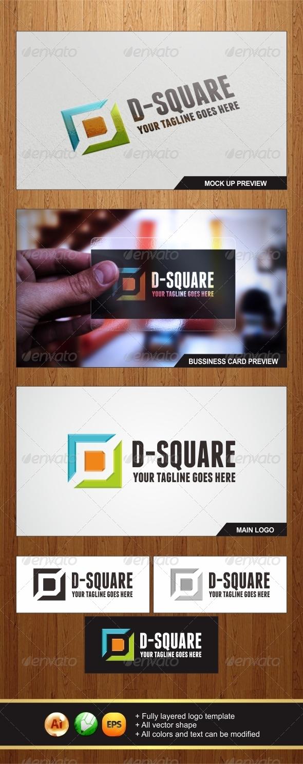 GraphicRiver D-Square Logo 6557516