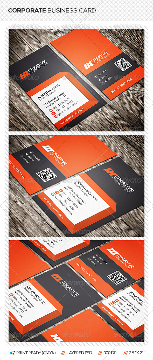 GraphicRiver Corporate Business Card 6558376