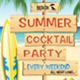 Summer Party Flyer's - GraphicRiver Item for Sale