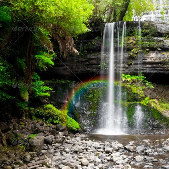 Stock Photo - PhotoDune waterfall 687773