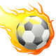 Football on Fire - GraphicRiver Item for Sale