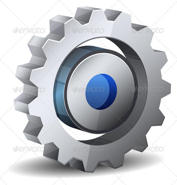 GraphicRiver Gear Icon 6559757